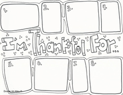 Thanksgiving coloring pages with words