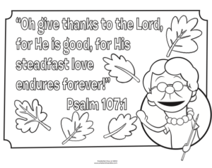 100 Free Thanksgiving Coloring Pages For Sunday School