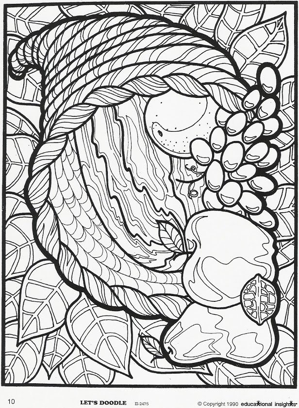 Free thanksgiving coloring pages to print off ~ cornucopia-education - Ministry Advice
