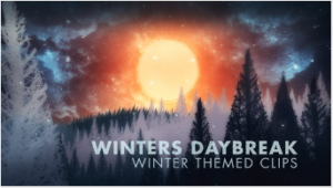 Dan Stevers winter-themed video pack