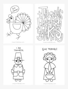 thanksgiving coloring pages - Free Thanksgiving Coloring Sheets