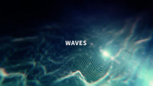 Waves motion background