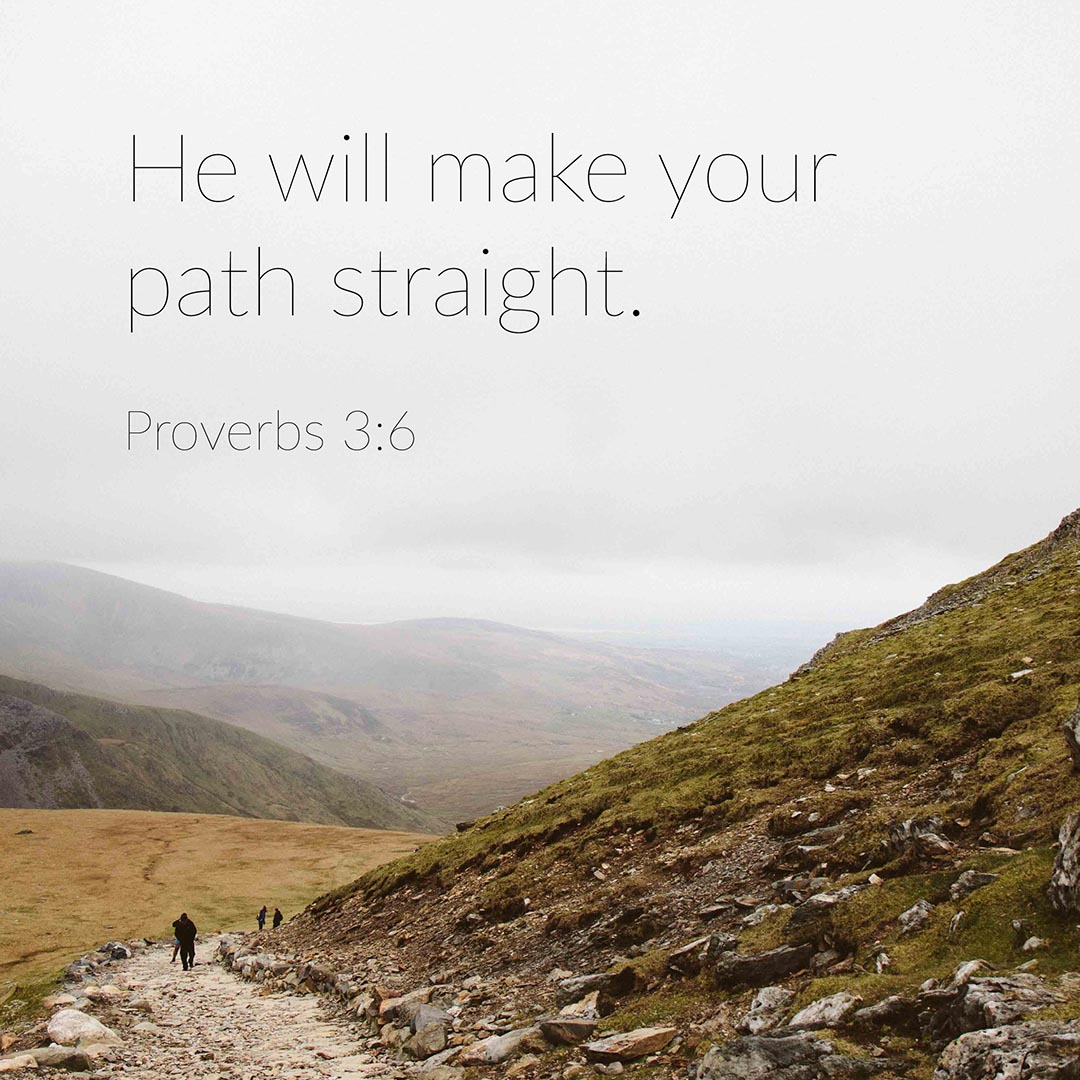 Free Bible verse Proverbs 3:6